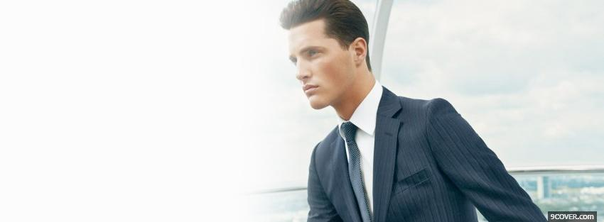 Photo dkny men fashion Facebook Cover for Free