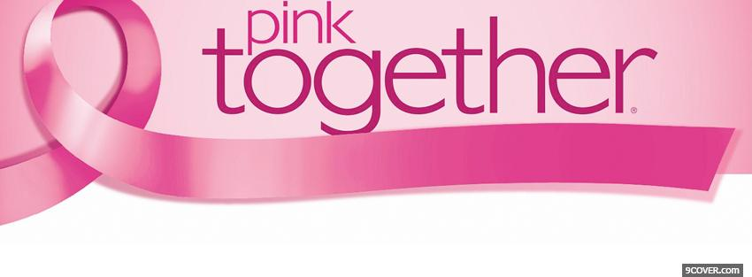 Photo pink together Facebook Cover for Free