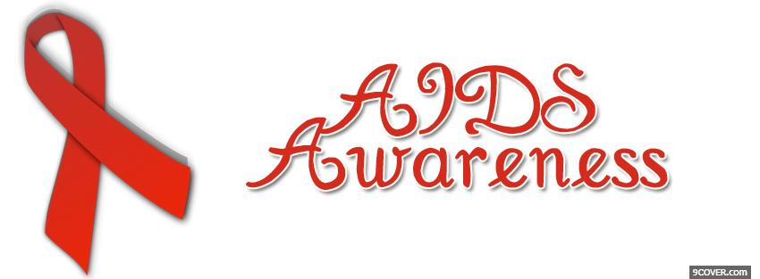 Photo aids awareness Facebook Cover for Free