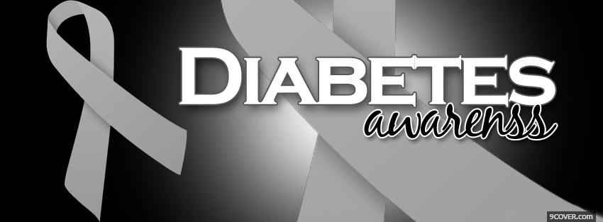 Photo diabetes awareness Facebook Cover for Free