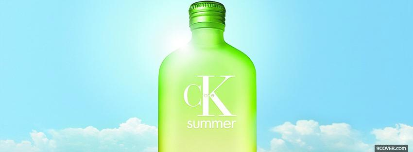 Photo c k summer brand Facebook Cover for Free