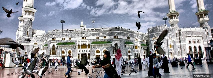 Photo mecca saudi arabia Facebook Cover for Free