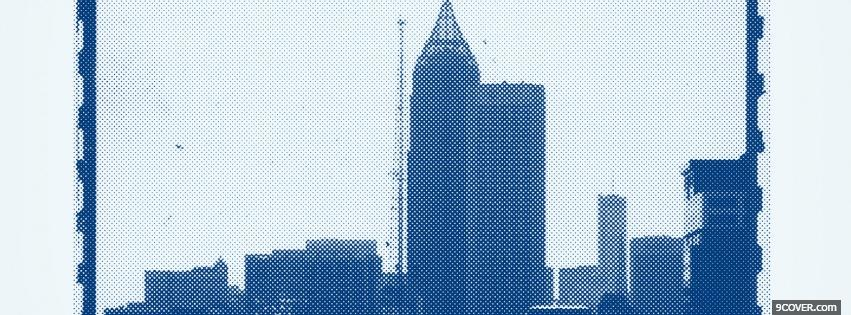 Photo atlanta city Facebook Cover for Free