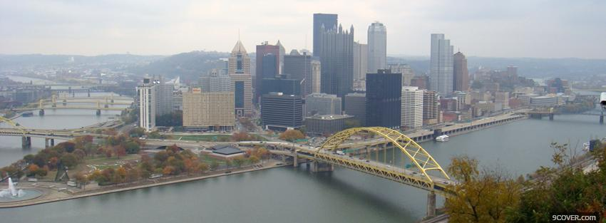 Photo duquesne incline city Facebook Cover for Free