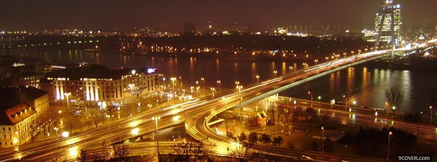 Photo slovakia bratislava city Facebook Cover for Free
