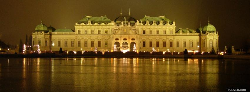 Photo vienna austria city Facebook Cover for Free