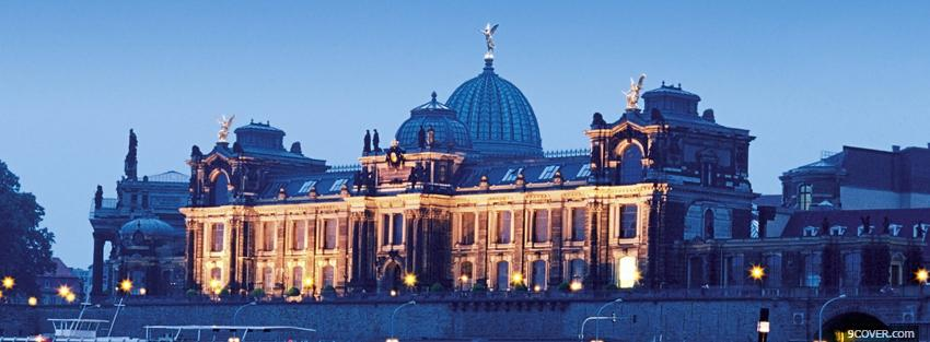 Photo germany city Facebook Cover for Free