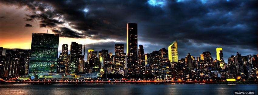 Photo new york city beauty Facebook Cover for Free