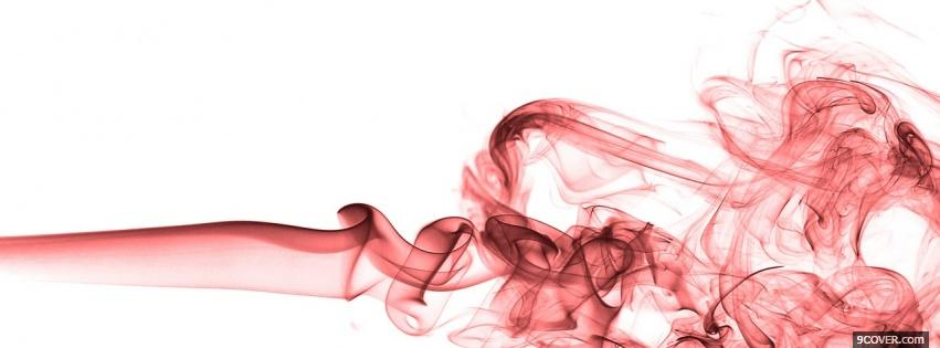 Photo pink smoke creative Facebook Cover for Free