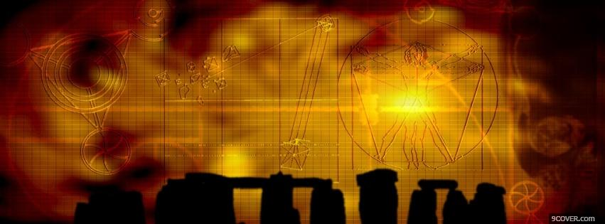 Photo wiccan stones creative Facebook Cover for Free