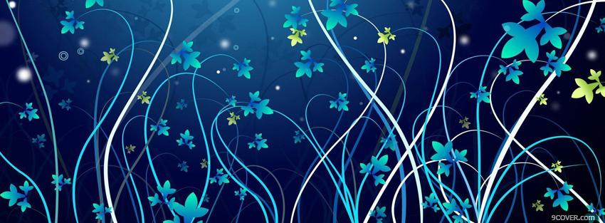 Photo night nature creative Facebook Cover for Free