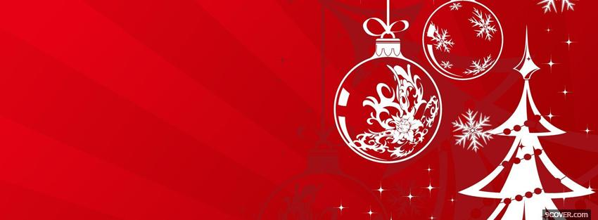 Photo christmas time creative Facebook Cover for Free
