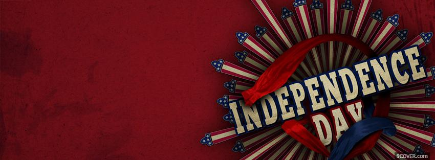 Photo independence day holiday Facebook Cover for Free