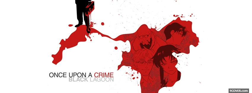 Photo once upon a crime manga Facebook Cover for Free