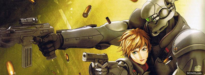 Photo appleseed ex machina manga Facebook Cover for Free
