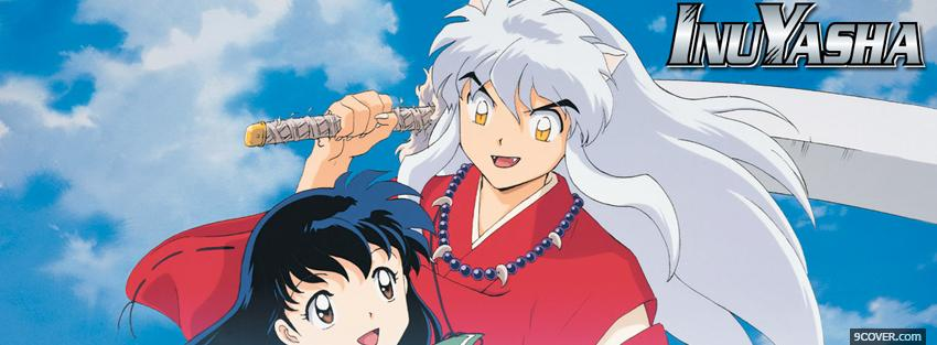 Photo inu yasha manga Facebook Cover for Free