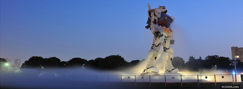 Photo gundam evening manga Facebook Cover for Free