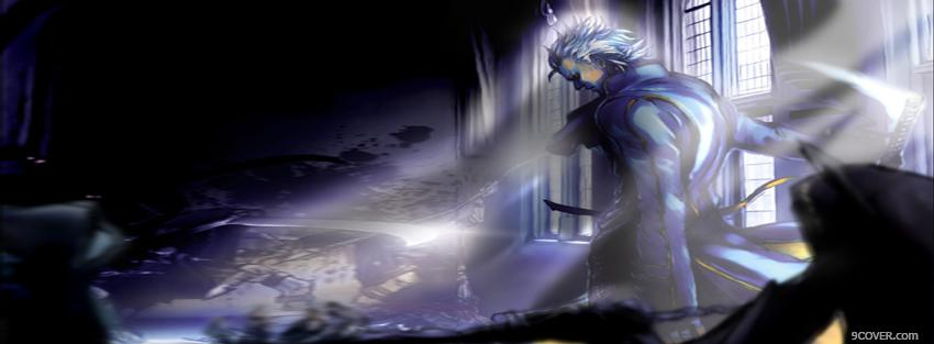 Photo vergil devil may cry Facebook Cover for Free