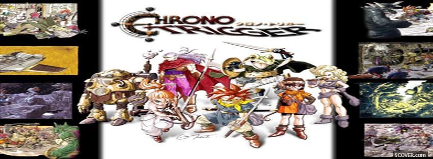 Photo chrono trigger manga Facebook Cover for Free