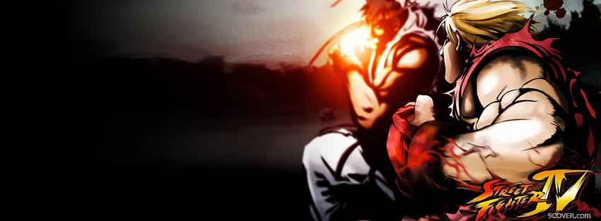 Photo super street fighter 4 manga Facebook Cover for Free