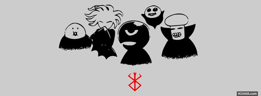 Photo berserk anime manga Facebook Cover for Free