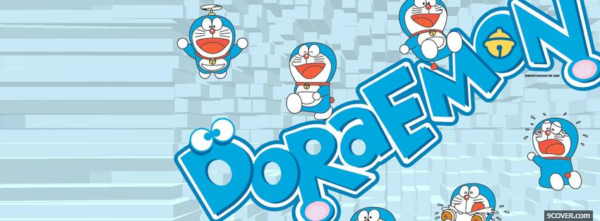 Photo doraemon manga Facebook Cover for Free