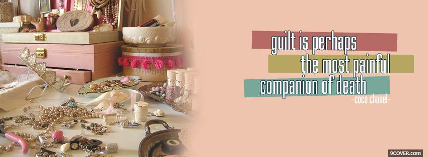 Photo guilt death companion quotes Facebook Cover for Free