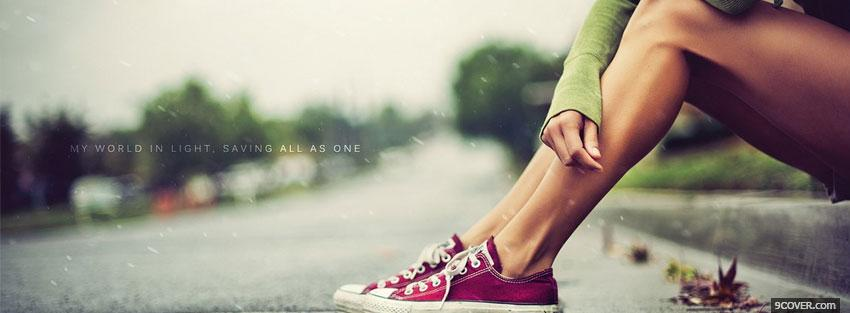 Photo saving all as one quotes Facebook Cover for Free