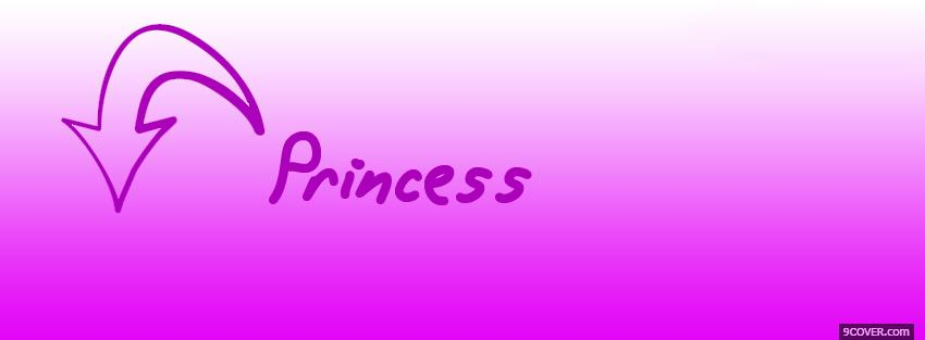 Im A Princess Quotes Photo Facebook Cover