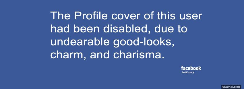 Photo profile disables quotes Facebook Cover for Free
