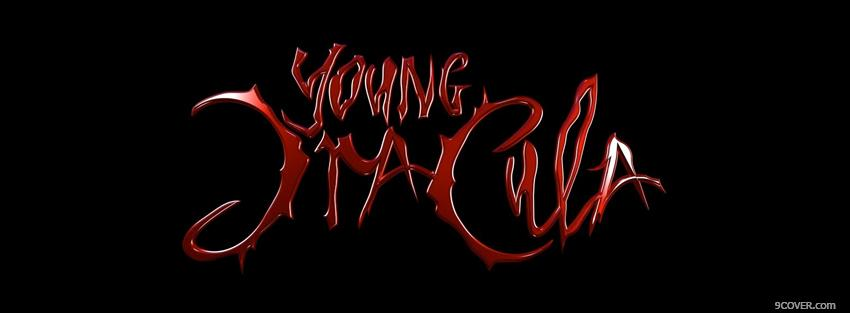 Photo young dracula quotes Facebook Cover for Free