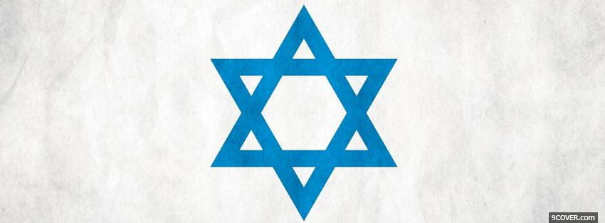 Photo star of david religions Facebook Cover for Free