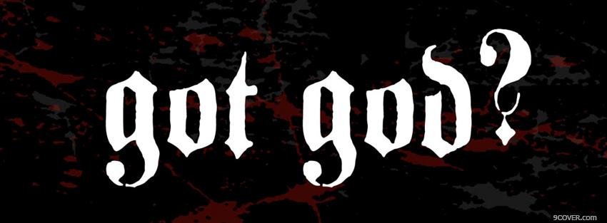 Photo got god religions Facebook Cover for Free