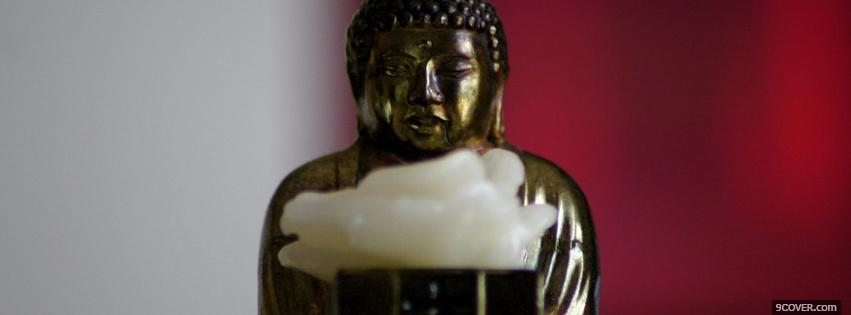 Photo buddha Facebook Cover for Free