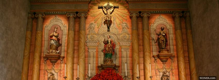 Photo santa barbara mission religions Facebook Cover for Free