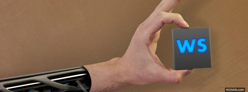 Photo ws robotic arm technology Facebook Cover for Free