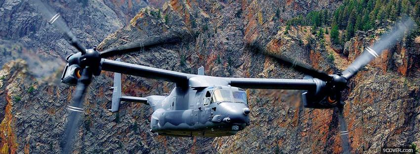 Photo bell boeing osprey war Facebook Cover for Free