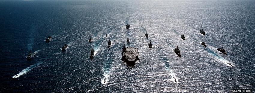 Photo us navy military war Facebook Cover for Free