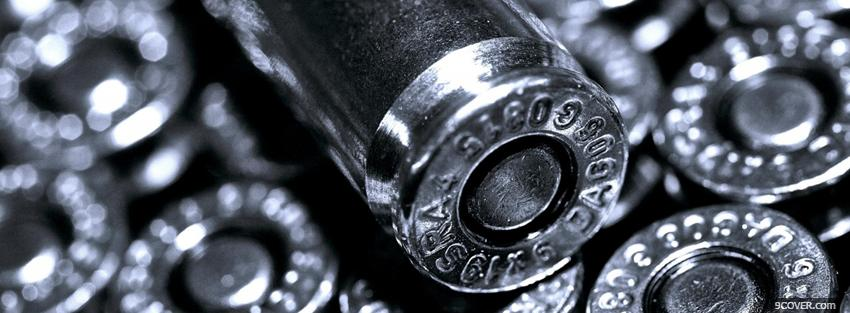 Photo silver bullets war Facebook Cover for Free