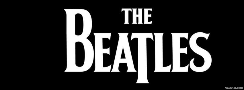 Photo The Beatles  Facebook Cover for Free