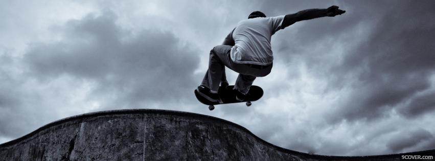 Photo Skate Facebook Cover for Free