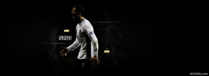 Photo Cristiano Ronaldo Facebook Cover for Free