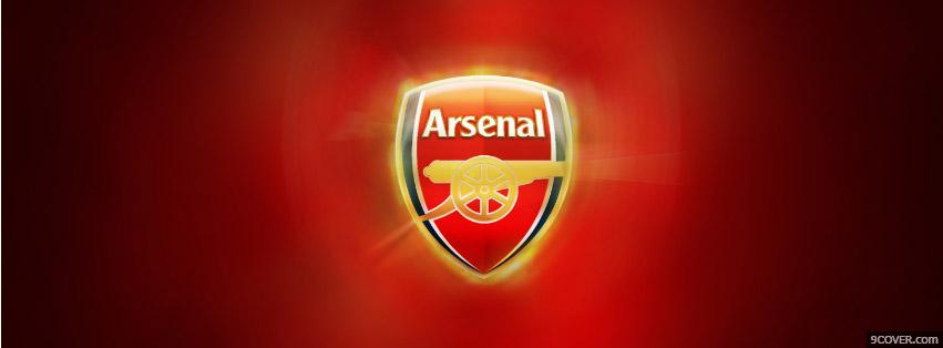 Photo Arsenal Fire Facebook Cover for Free