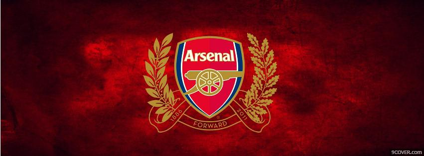 Photo Arsenal Forward  Facebook Cover for Free