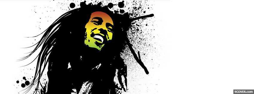 Photo Bob Marley Facebook Cover for Free