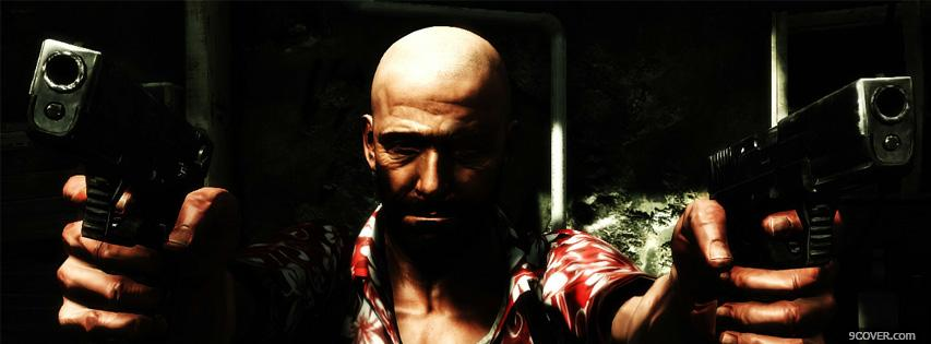 Photo Max Payne 3  Facebook Cover for Free