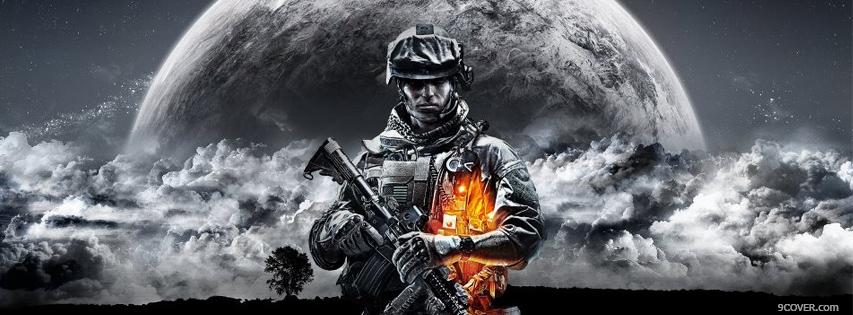 Photo Battlefield 3 Facebook Cover for Free