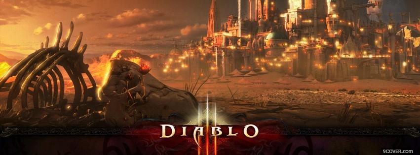 Photo Diablo 3 Facebook Cover for Free