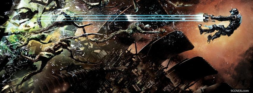 Photo Dead Space 2 Facebook Cover for Free