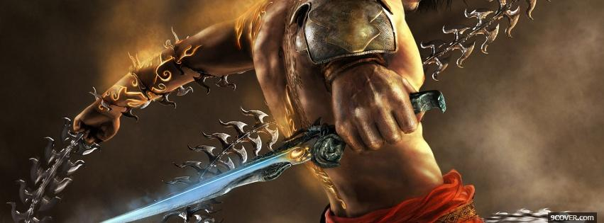 Photo Prince Of Persia - Two Thrones Facebook Cover for Free